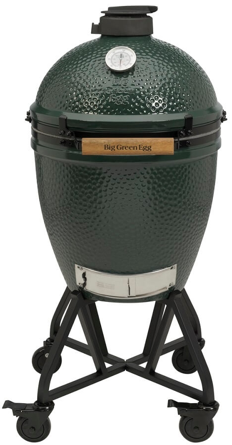 Big Green Egg Large + Integgrated Nest+Handler - Barbecuenu.nl