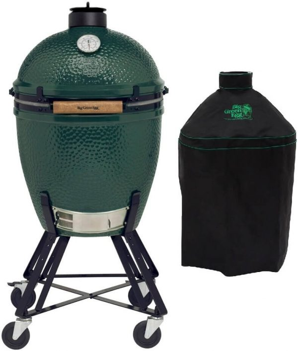 Big Green Egg Large + Onderstel + Hoes - Barbecuenu.nl
