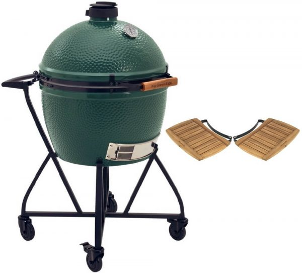 Big Green Egg XLarge + Integgrated Nest+Handler + Zijtafels - Barbecuenu.nl
