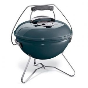 Weber Smokey Joe Premium 37cm Slate Blue - Barbecuenu.nl