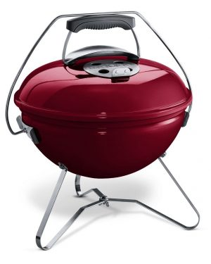 Weber Smokey Joe Premium 37 cm Crimson Red - Barbecuenu.nl