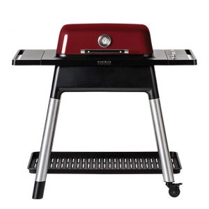 Everdure | Gas BBQ FORCE | Red | Incl. Stand - Barbecuenu.nl
