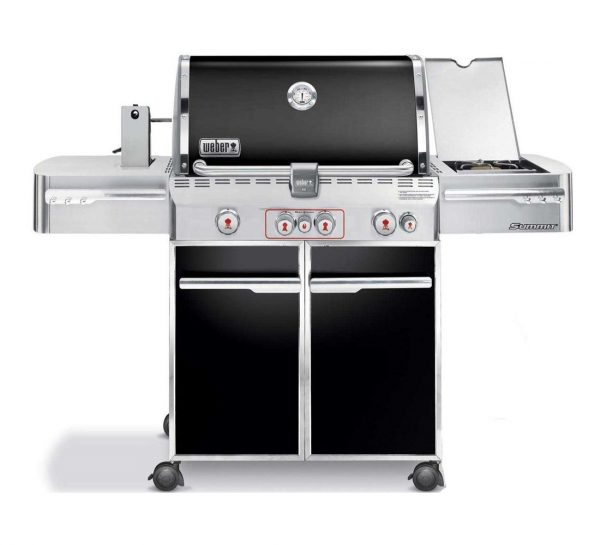 Weber Summit E-470 GBS System Edition Black - Barbecuenu.nl