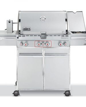 Weber Summit S-470 GBS System Edition RVS - Barbecuenu.nl
