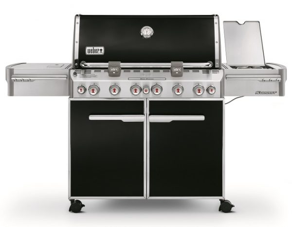 Weber Summit E-670 GBS System Edition Black - Barbecuenu.nl