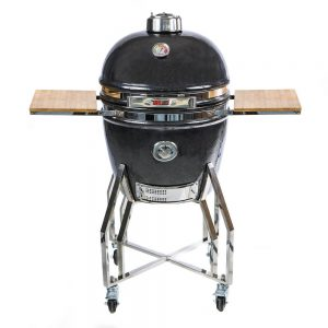Grill Guru Elite Black Large Compleet - Barbecuenu.nl